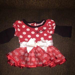 Newborn Disney Minnie Mouse one piece dress